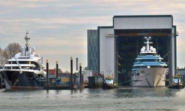 Per Bezos un superyacht di 127 metri