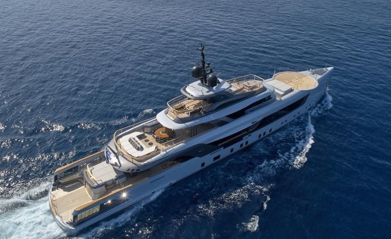 Geco, il megayacht charter di 55 metri firmato Admiral