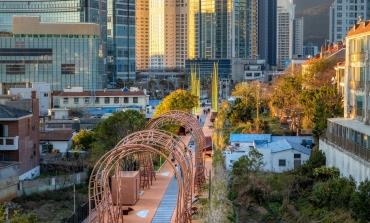 Da una ex-ferrovia nasce a Busan un parco lineare firmato Migliore + Servetto