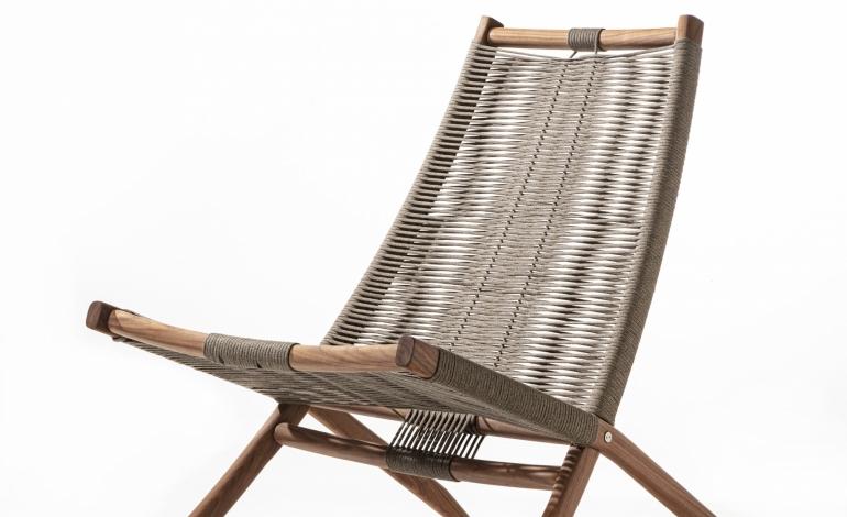 Huli, la lounge chair da salotto di Frigerio