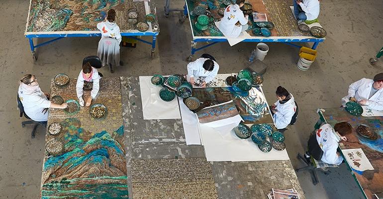I mosaici Sicis battono i cloni cinesi