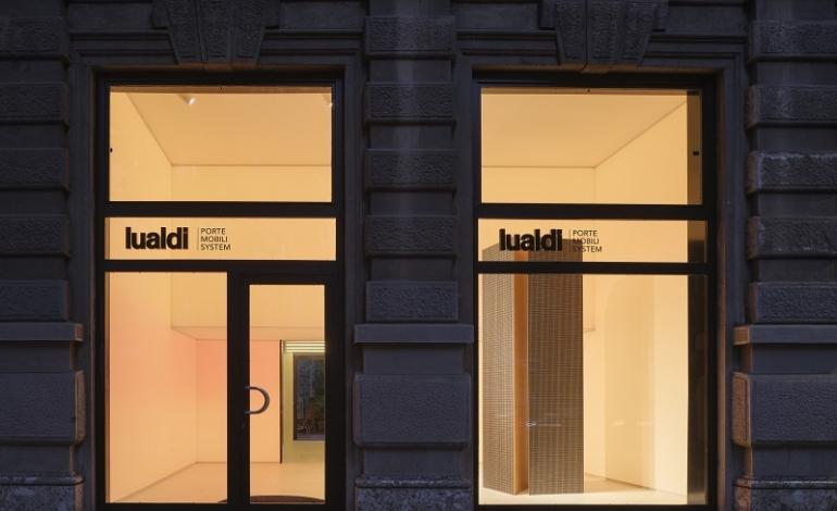 Lualdi, nel nuovo showroom milanese ambientazioni immersive