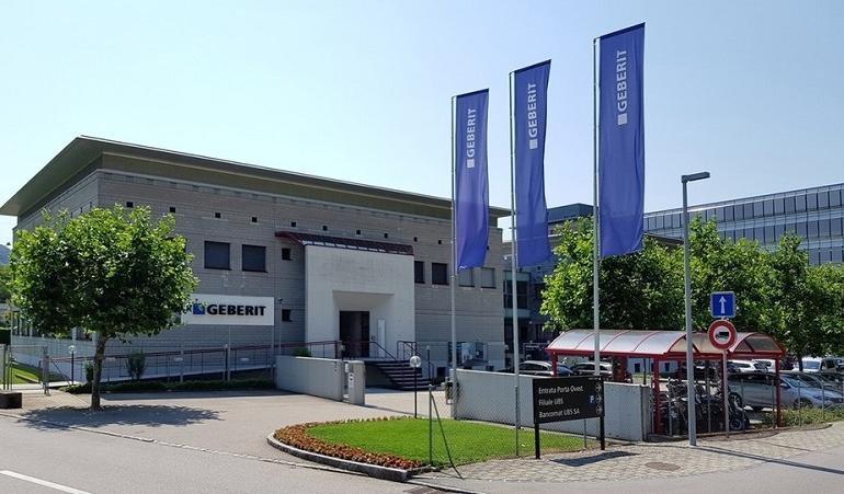Geberit investe 45 milioni nei due poli produttivi italiani