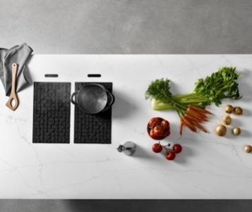 Lapitec Chef, il piano cottura a induzione invisibile