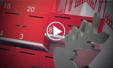 Dieffebi celebra Primo Lockers con un'installazione natalizia